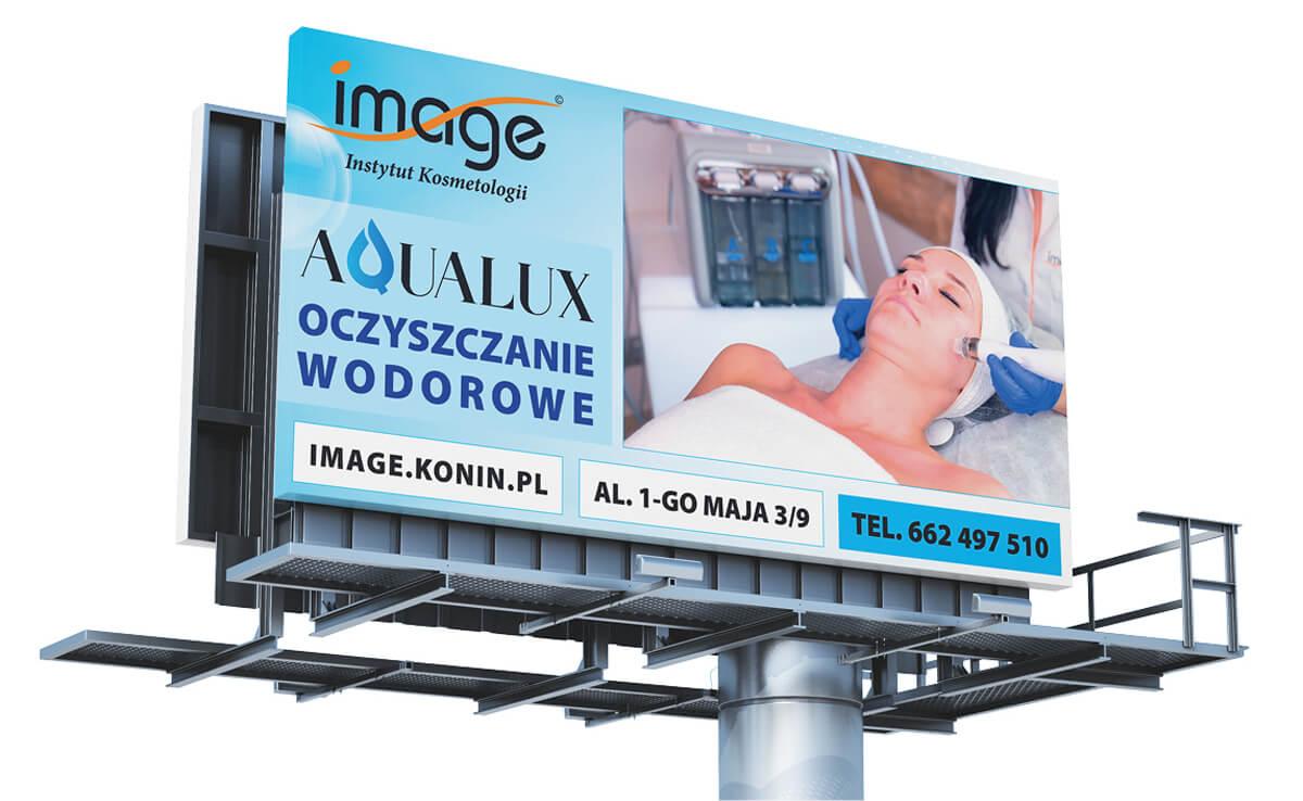 Projekt billboardu - Aqualux