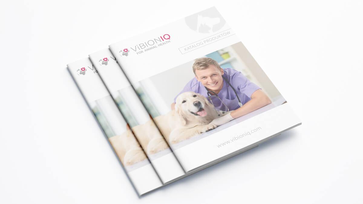 Projekt katalogu produktowego - Vibioniq