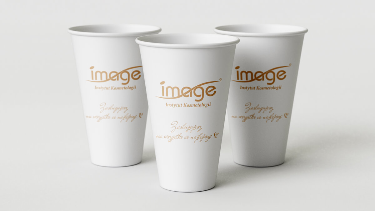 Projekt nadruku na kubek papierowy - Image